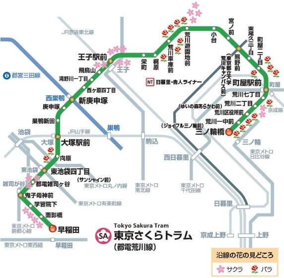railway-map-of-arakawa