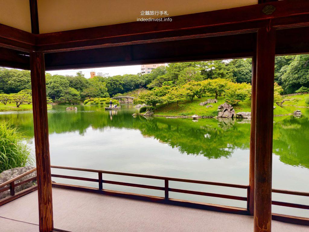 view-kikugetsu-pavilion-ritsurin-garden