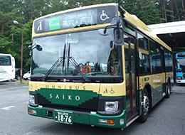 kawaguchi-lake-bus-green-line