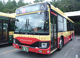 kawaguchi-lake-bus-red-line