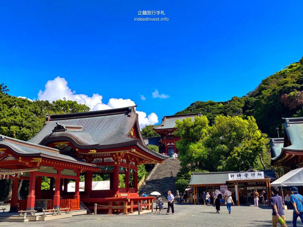 view-tsurugaoka-hachimangu-shrine